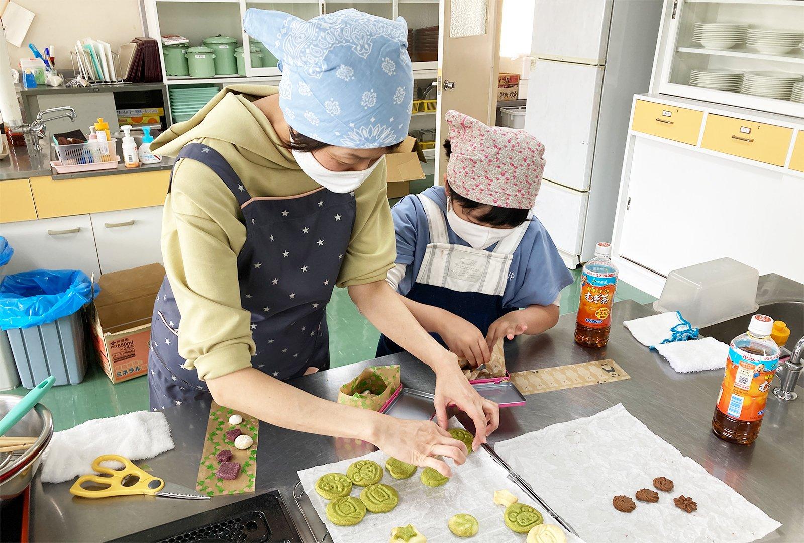 「お菓子教室~ちゅっぴぃのクッキー缶作り~」を開催いたしました(2021/05/01)