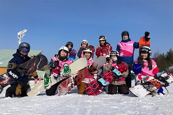 2020年度 スノーボード実習を行いました